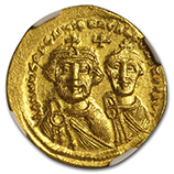 Byzantine Empire Gold Coins